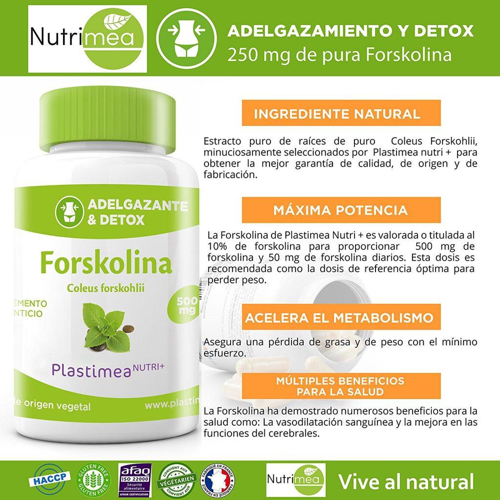 Forskolin, Opiniones y Donde Comprar - SaludxDesarrollo